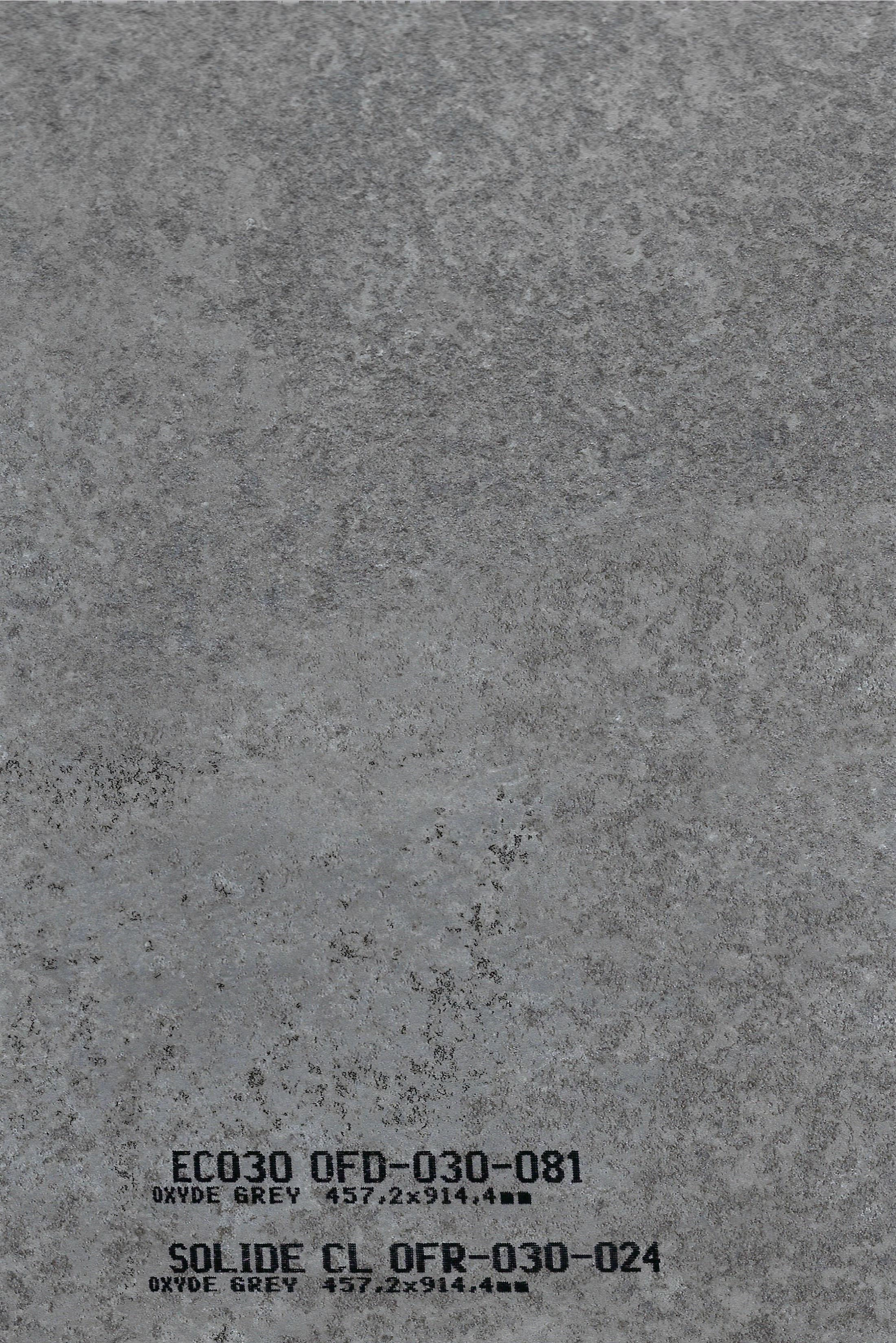 VINYL SOLIDE CLICK 30 024 Oxyde Grey