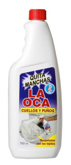 Odstraňovač skvrn LA OCA QUITA (náplň) 750ml - 400601