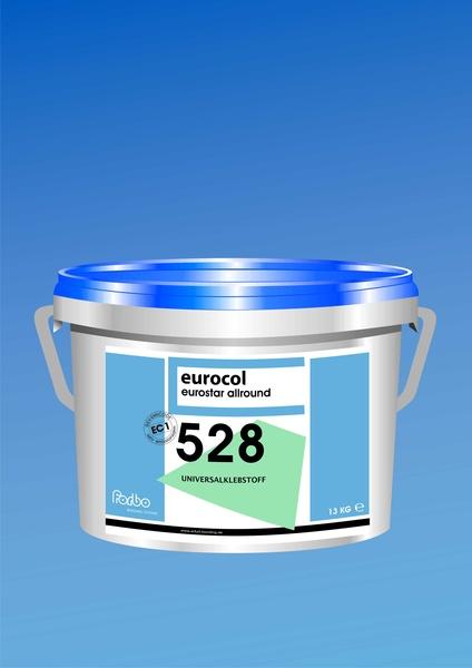 Forbo Eurostar Allround 528 univerzální disperzní lepidlo - Univerzální lepidlo na PVC a vinyl 13kg (cena za kg)