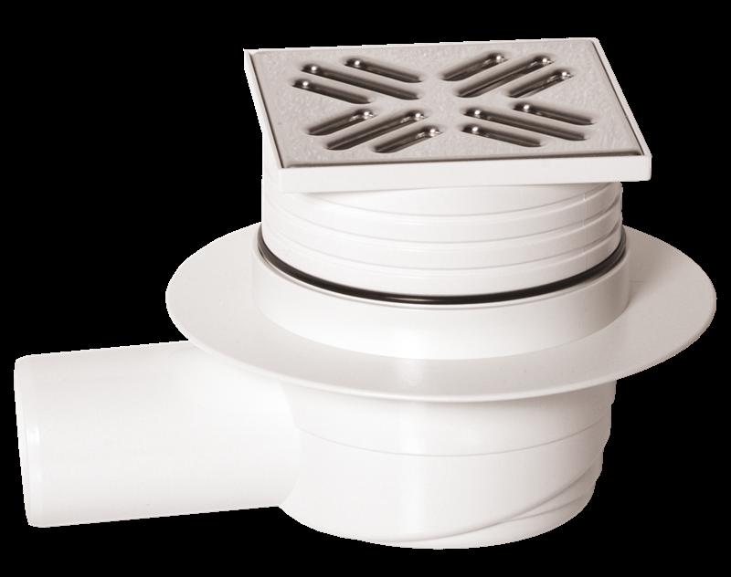 Multi vpusť podlahová boční nerez mřížka - 50 mm - ETYPB