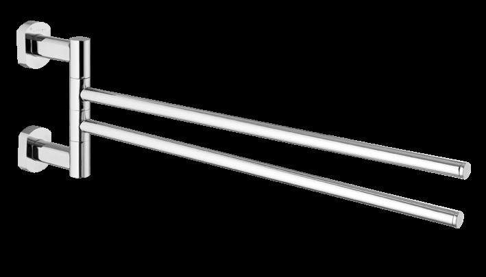 Spirit dvojitý otočný držák na ručníky - SPI19