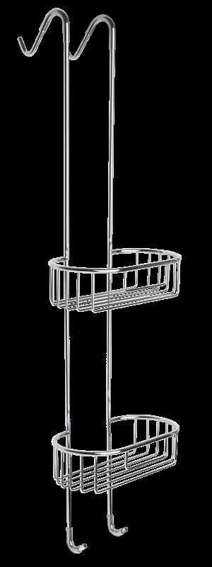 Optima závěsná polička na sprchové kouty - ZAVPOLDRAT