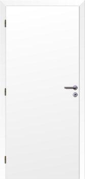 Dveře interiérové Klasik - Bílé 110cm Levé - Plné