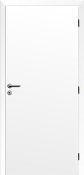 Dveře interiérové Klasik - Bílé 125cm Pravé - Plné