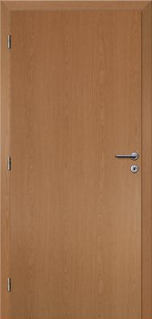 Dveře interiérové Klasik - Dub 60cm Levé - Plné