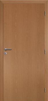 Dveře interiérové Klasik - Dub 60cm Pravé - Plné