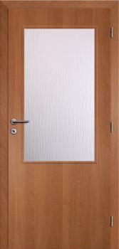 Dveře interiérové Klasik - Olše 70cm Pravé - 2/3 sklo
