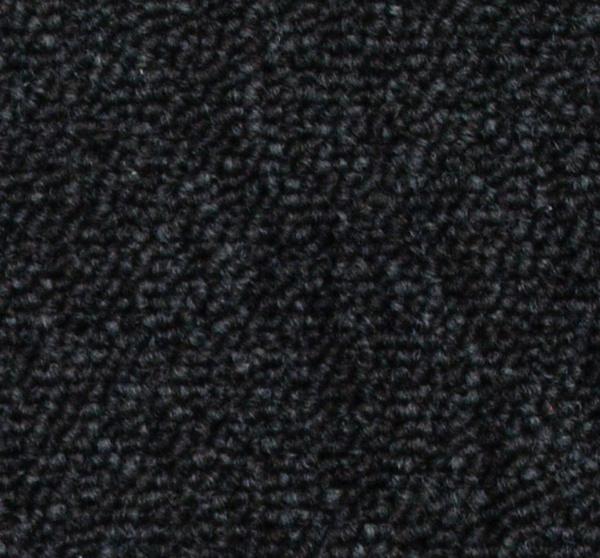Zátěžový koberec COBALT černý - 351