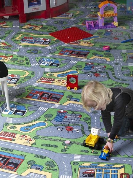 Dětský koberec City Life - 158