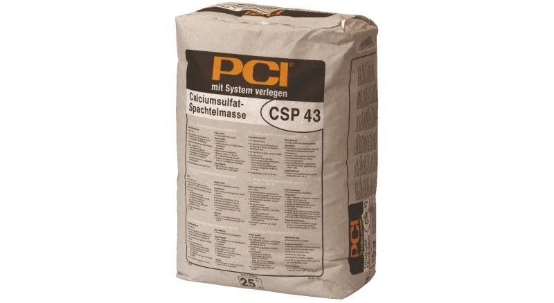 Samonivelační hmota - Kalciumsulfátová stěrka CSP 43 - Nivelační stěrka