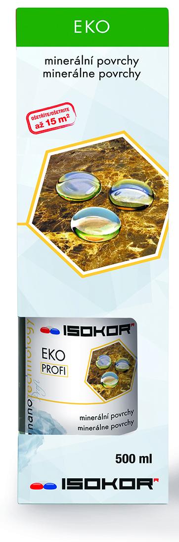 Nano impregnace kamene, pískovce - IsoKor® Eko Profi 0,5 litru + Eko Reviver ZDARMA