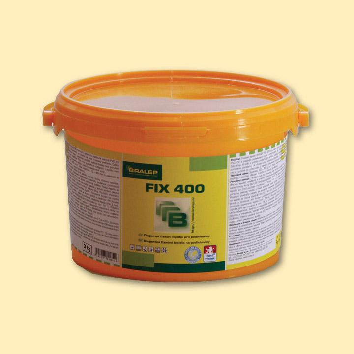 BRALEP FIX 400 3kg - Disperzní lepidlo k fixaci podlahových krytin (cena za kg)