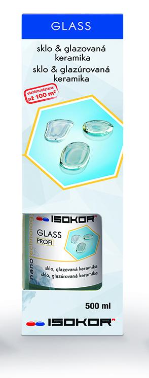 Tekuté stěrače - Nano impregnace a ochrana skla IsoKor® Glass Profi 0,5l