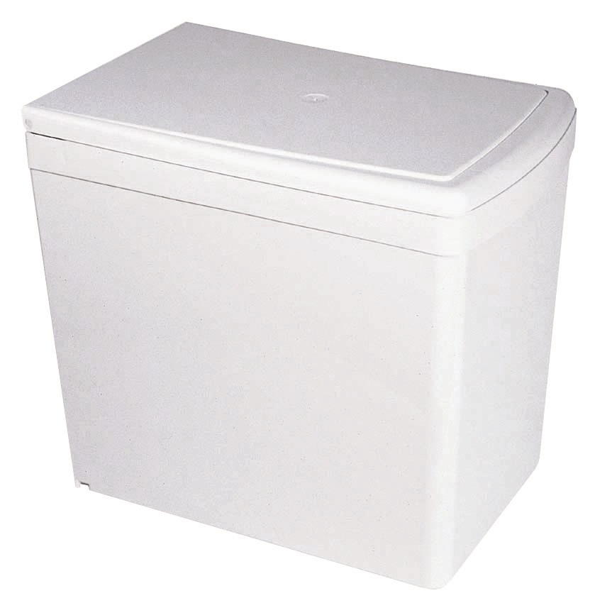 Pyramis vestavný odpadkový koš 1x16l bílý
