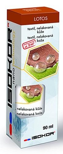 Nano impregnace na boty, kůži, textil a oděvy IsoKor® Lotos Profi 90 ml