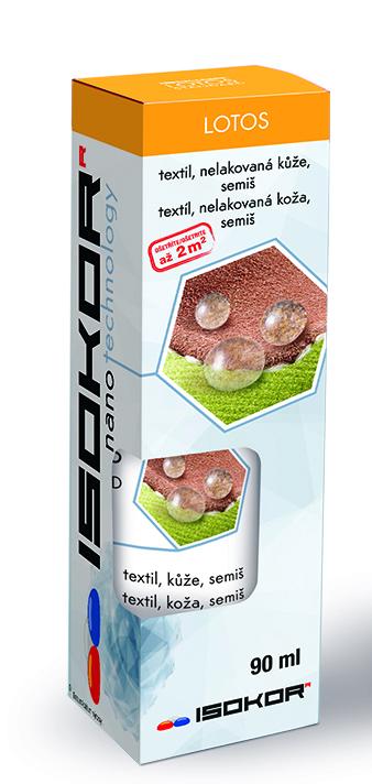 Nano impregnace na boty, kůži, textil a oděvy IsoKor® Lotos Standard 90ml