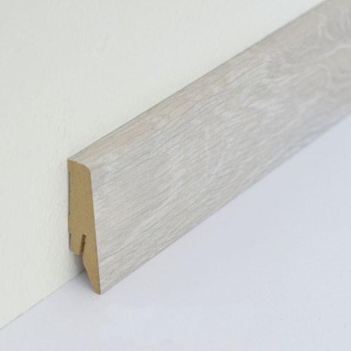 Soklová lišta R1 - Dub elegantní bílý R0827