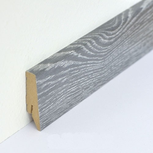 Soklová lišta R1 - Dub šedý vápněný RV812