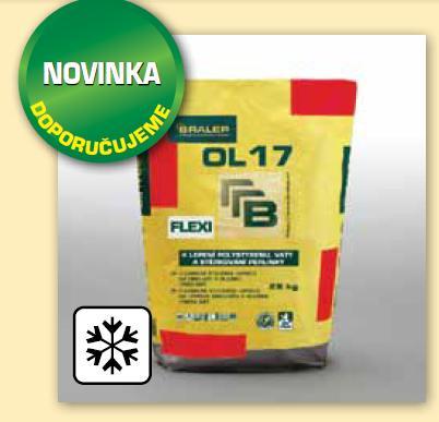 BRALEP OL 17 7kg - Flexibilní stavební lepidlo na obklady a dlažbu - C2T (cena za kg)