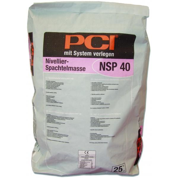 Samonivelační hmota - NSP 40 - Nivelační stěrka
