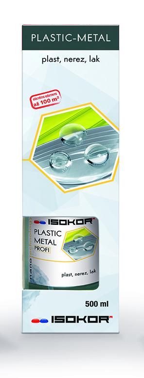 Nano impregnace kovových, nerezových a plastových povrchů IsoKor® Plastic - Metal Profi 0,5l