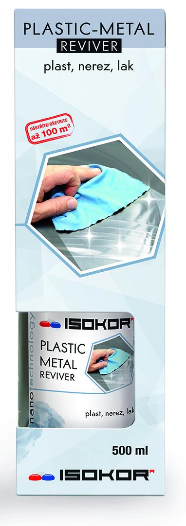 Nano impregnace kovových, nerezových a plastových povrchů IsoKor® Plastic - Metal Reviver 0,5l - Regenerace
