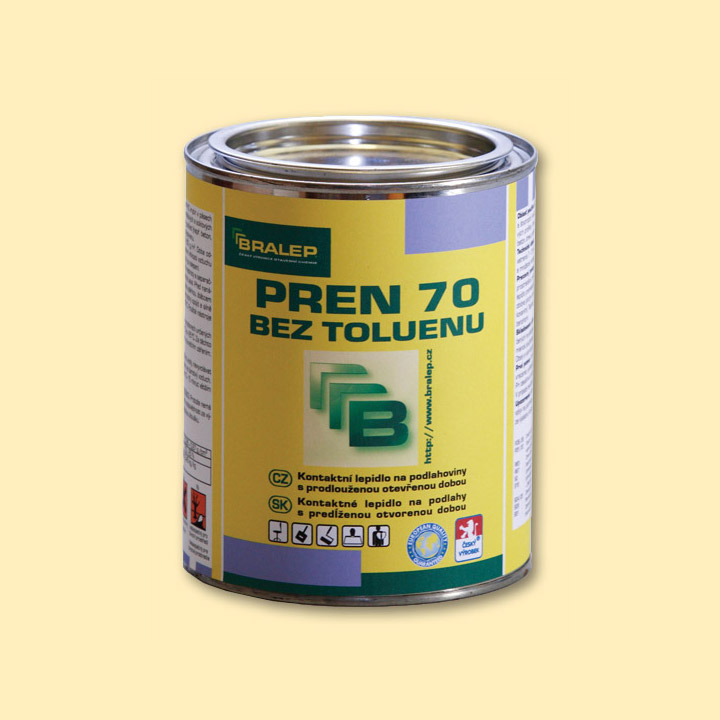 BRALEP PREN 70 Beztoluenové chloroprenové lepidlo 3,6 kg