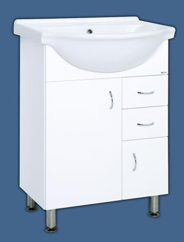 Keramia Pro skříňka s umyvadlem 65 cm - PRO65DV