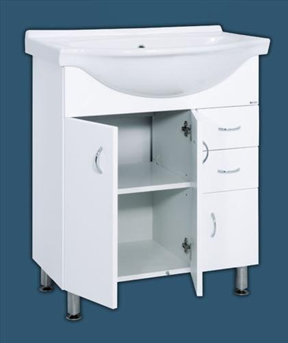 Keramia Pro skříňka s umyvadlem 80 cm - PRO80DV