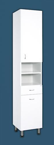 Keramia Pro doplňková skříňka vysoká s košem 35 cm - PROV35K