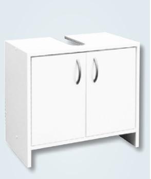 Multi Skříňka pod umyvadlo Praxis 55 cm, bílá SKDEMONT