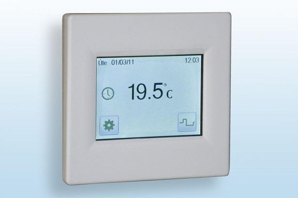 Programovatelný termostat FENIX TFT s dotykovým displejem
