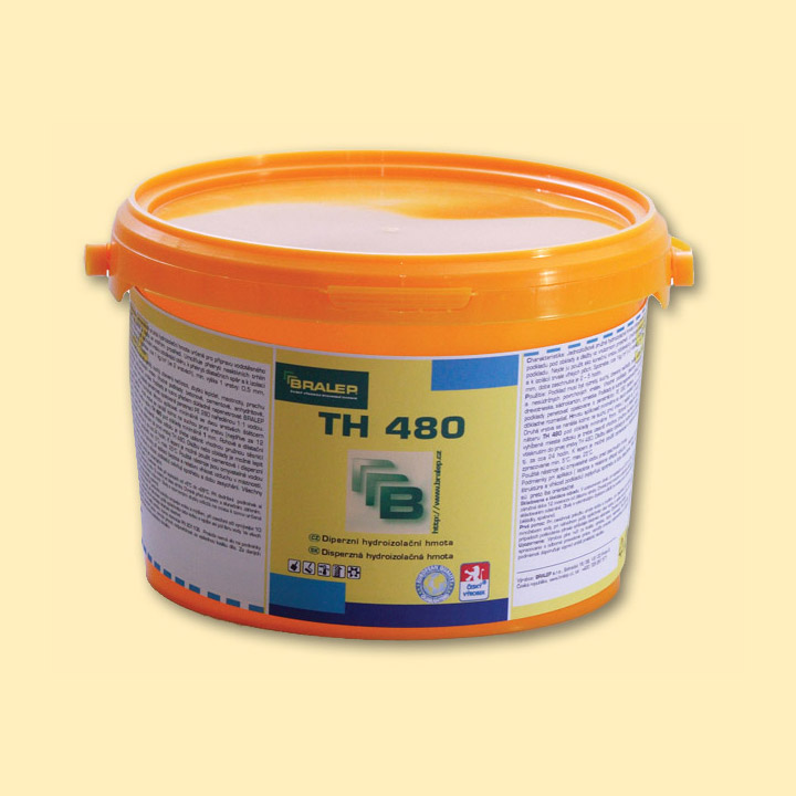 BRALEP TH 480 3kg - Disperzní jednosložková hydroizolační hmota (cena za kg)
