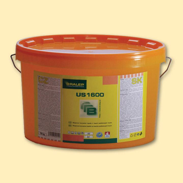 BRALEP US 1600 4kg - Univerzální disperzní lepidlo k lepení podlahových krytin (cena za kg)
