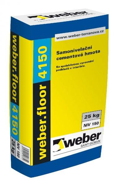 Samonivelační hmota Weber floor 4150